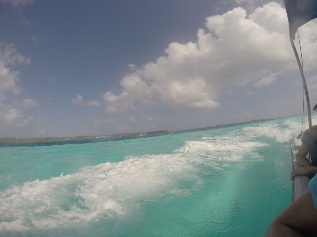 Amazing colors in San Andres