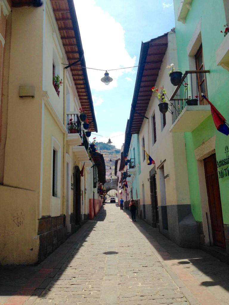 Charming street in La Ronda