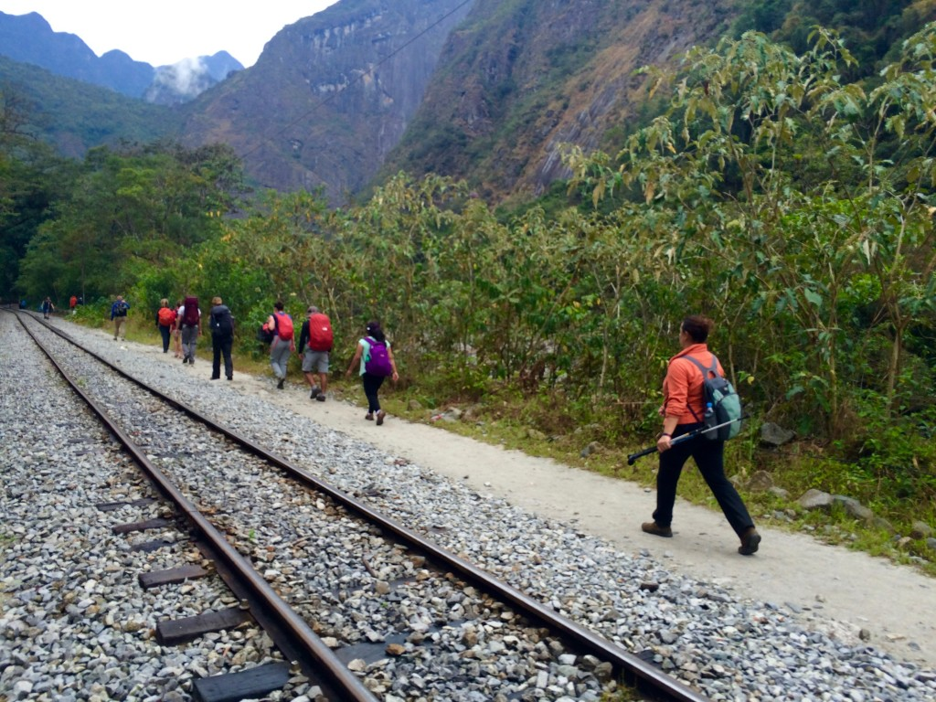 Fourth day: hiking from Hydroelectrica to Aguas Calientes