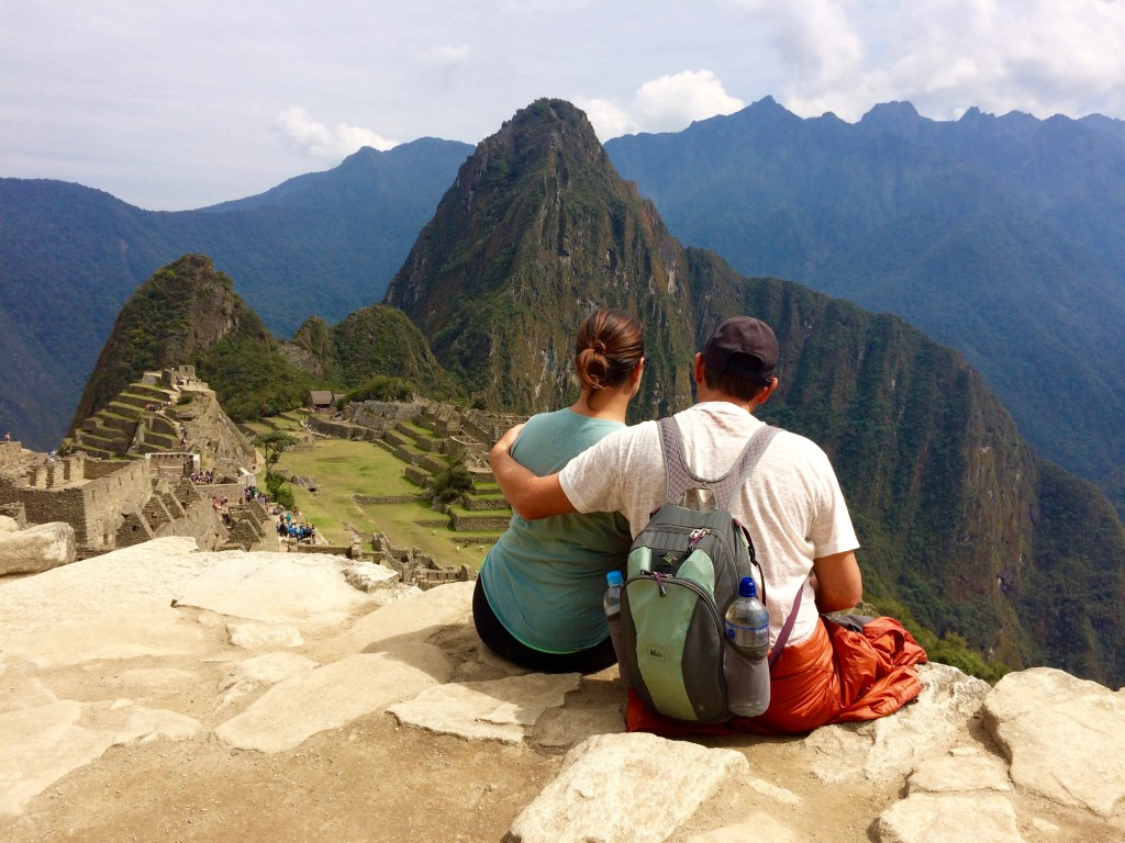 A break at Machu Picchu...