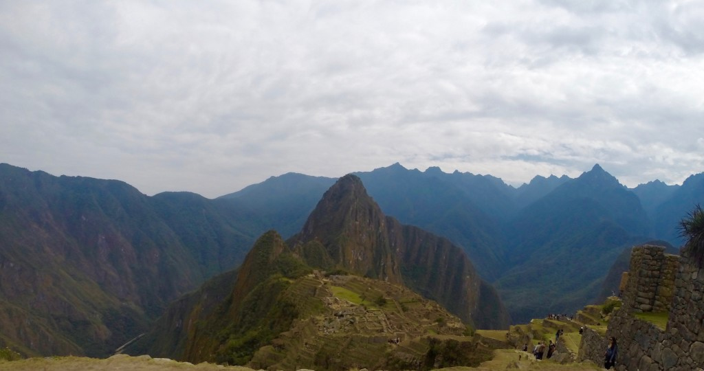 Mountains surrounding Machu Picchu