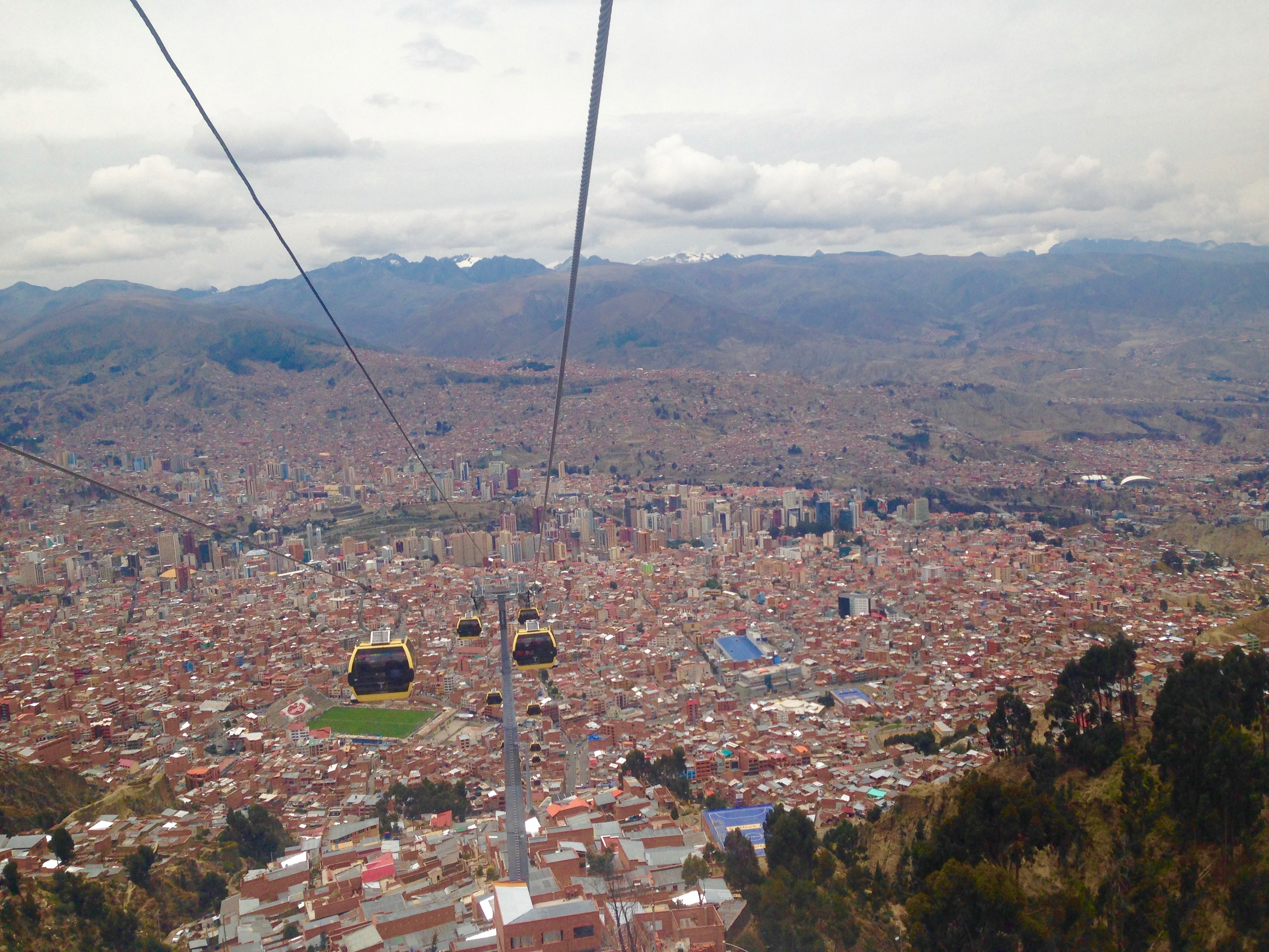 Positivity Among the Hustle and Bustle: La Paz