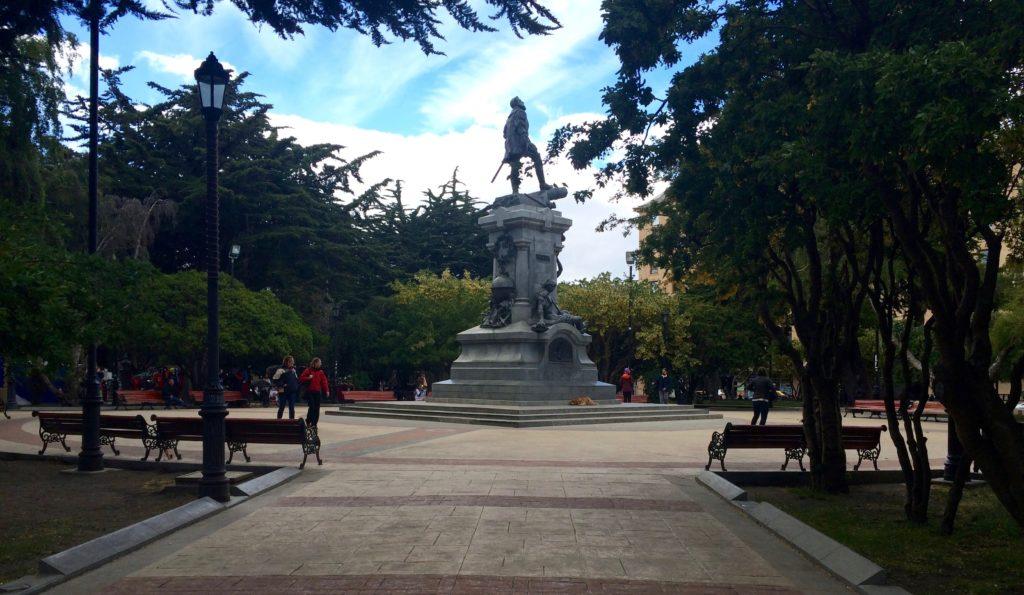 Plaza de Armas in Punta Arenas