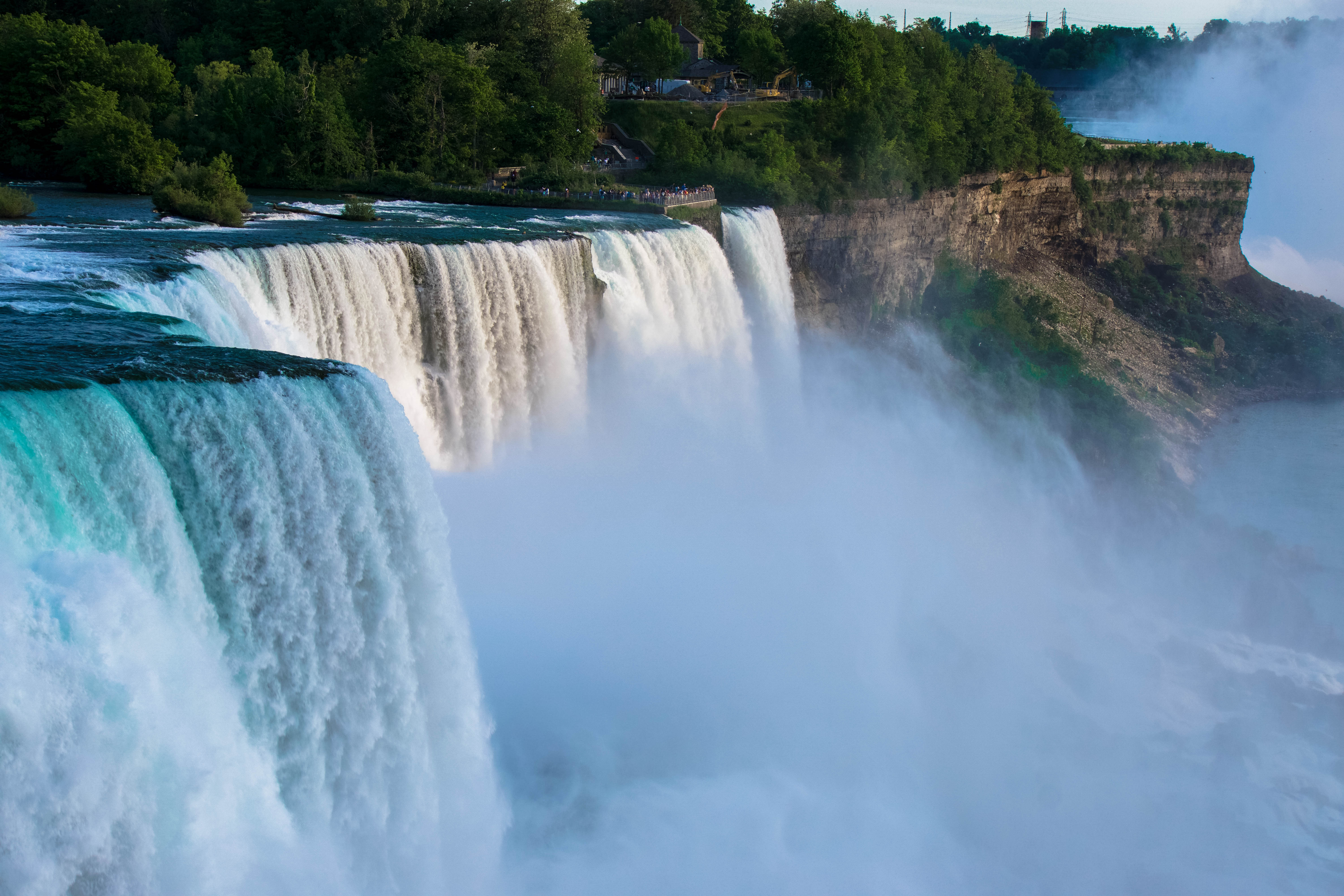 Amazing power of the falls