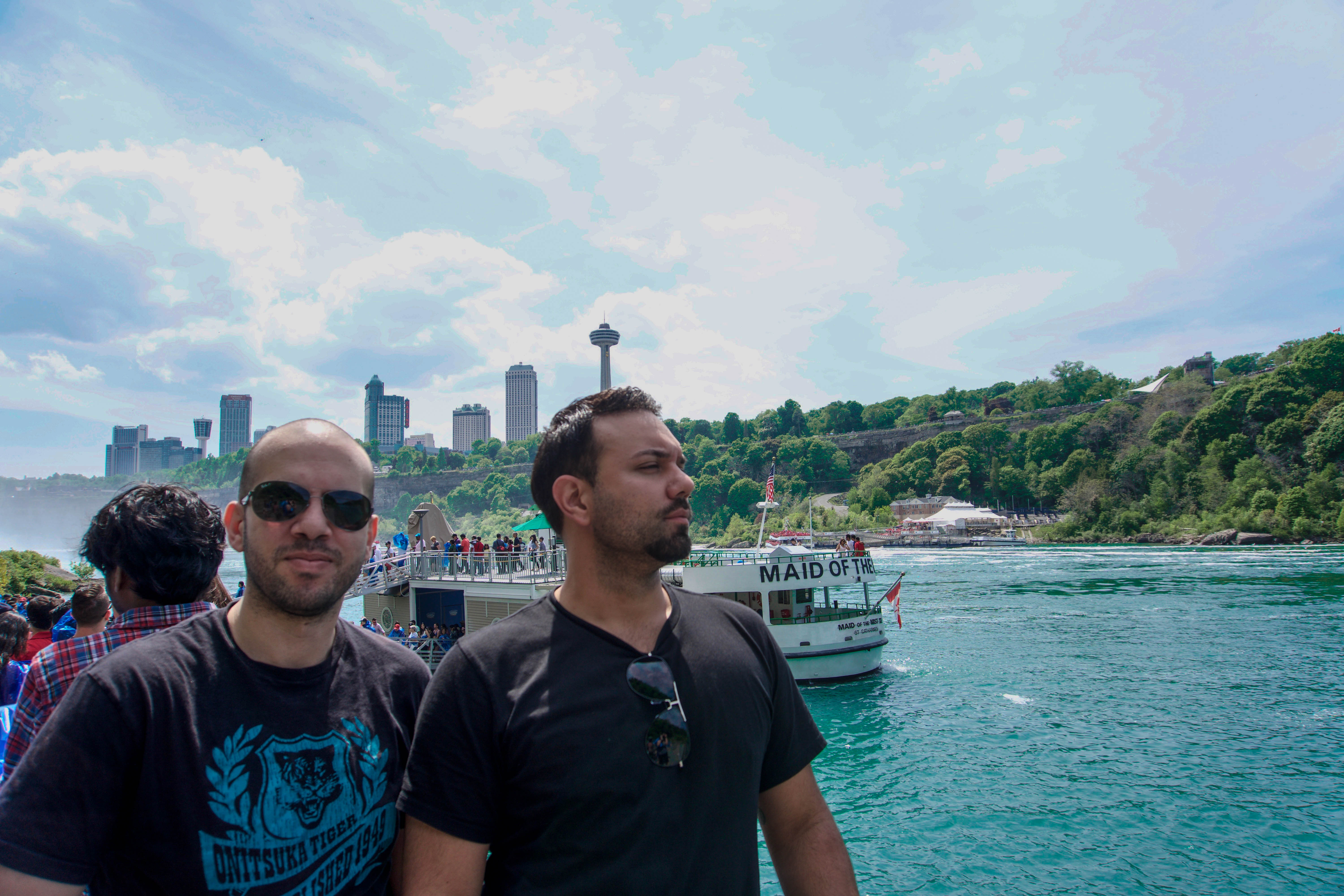 Captains of the Maid of the Mist