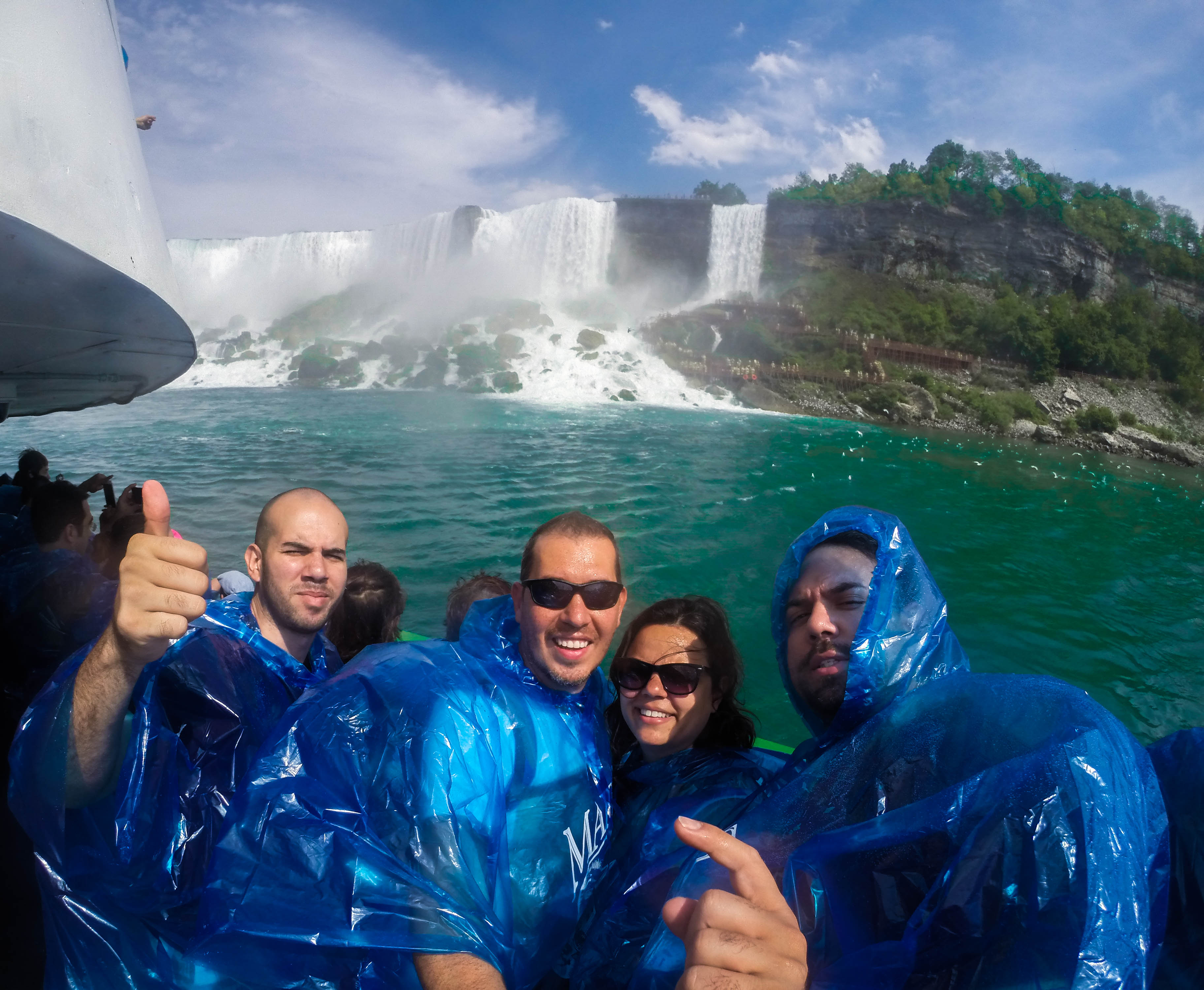 Awesome experience on the Maid of the Mist