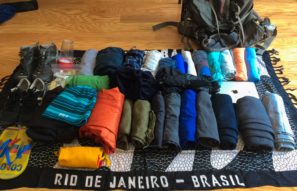 How we Packed for our 6 Month South America Backpacking Trip