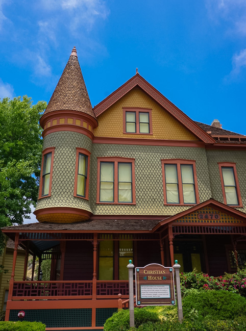 Victorian Home at Heritage Park