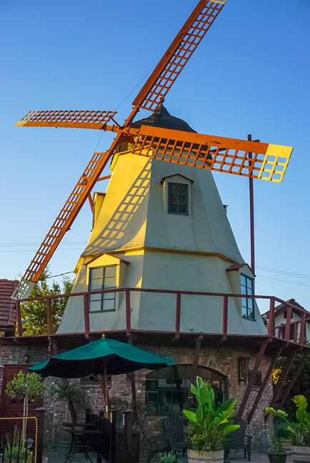 Solvang- known for its Danish heritage