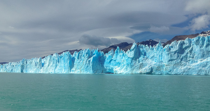 Great colors seen on a sunny day- Perito Moreno